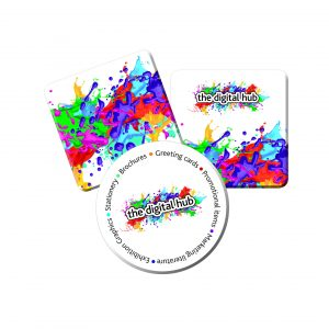 We can also print drinks coasters for your promotional campaigns.